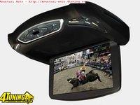 Monitor Auto Plafon 13,3 INCH Esd-Vr1338 Usb Sd Player Intrare Av Montaj Calificat In Toata Tara!