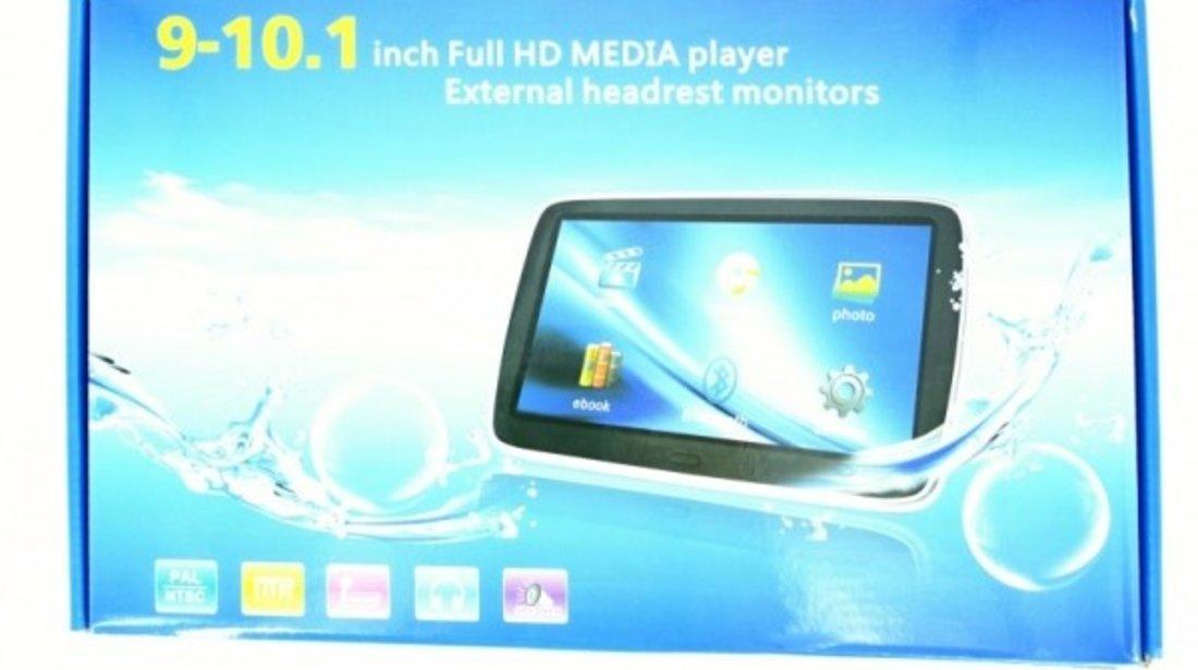 MONITOR CU PRINDERE PE TETIERA MAZDA ECRAN 10'' TRAVELMATE 10 USB / SD MP5 PLAYER REZOLUTIE HD