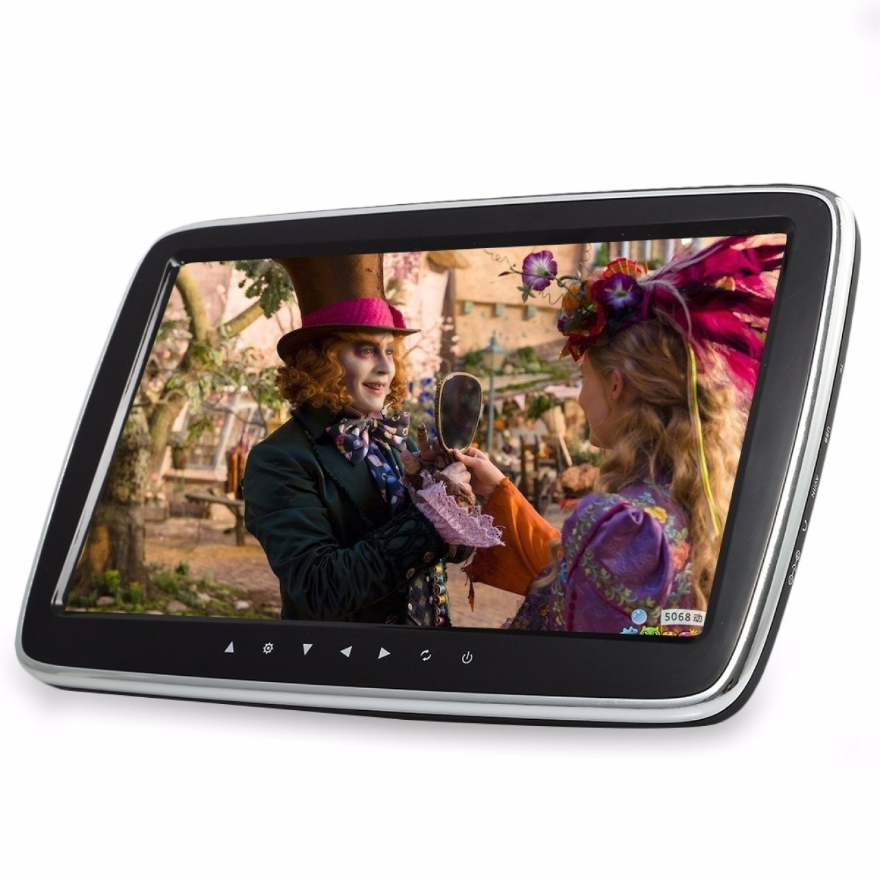 MONITOR CU PRINDERE PE TETIERA Mitsubishi ECRAN 10'' TRAVELMATE 10 USB / SD MP5 PLAYER REZOLUTIE HD