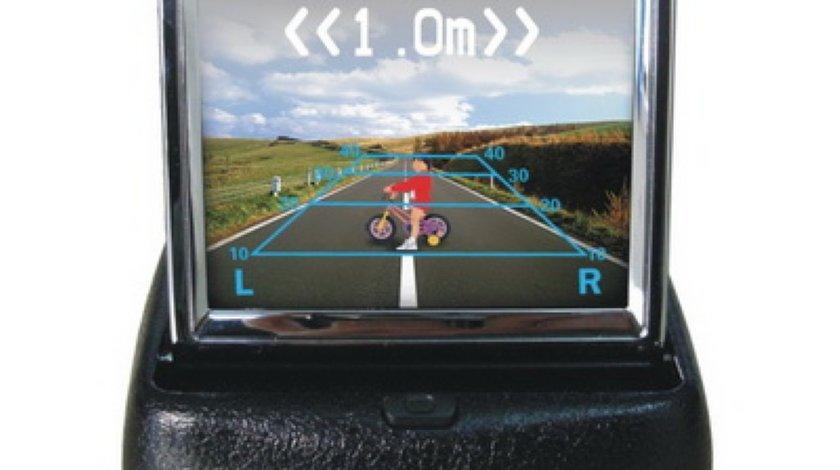 Monitor retractabil 3 5 inch PNI 358 pentru camera de mers inapoi