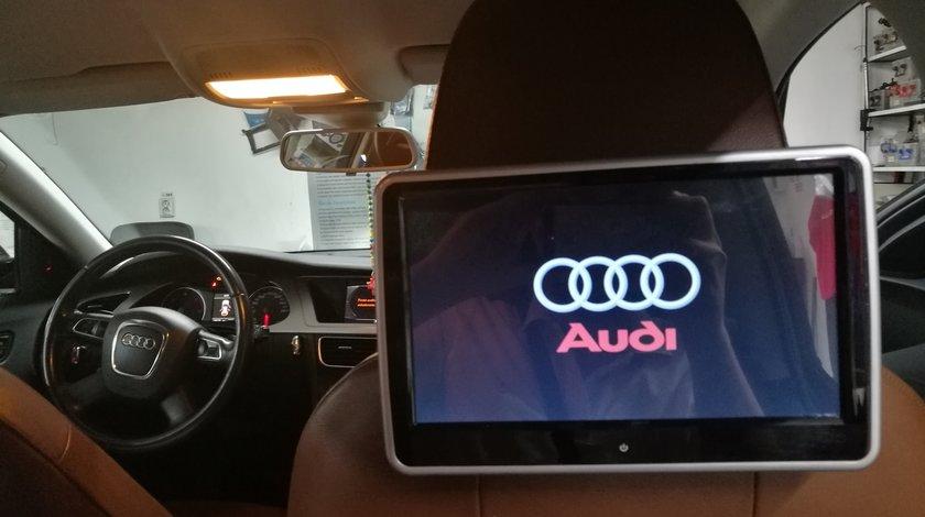 "MONITOR TETIERA CU ANDROID AUDI A1 TRAVELMATE 10"" USB SD 1080P INTERNET TOUCHSCREEN REZOLUTIE HD"