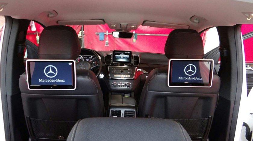 "MONITOR TETIERA CU ANDROID Mercedes BENZ A CLASS TRAVELMATE 10"" USB SD 1080P INTERNET REZOLUTIE HD"