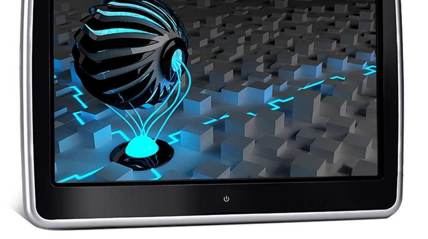 "MONITOR TETIERA CU ANDROID TRAVELMATE 10"" USB SD 1080P INTERNET TOUCHSCREEN REZOLUTIE HD"