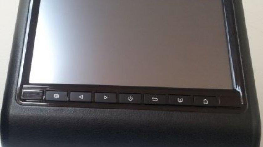 MONITOR TETIERA TUCHSCREEN LCD 9'' NEGRU USB SD HDMI REZOLUTIE HD MONTAJ CALIFICAT IN TOATA TARA !