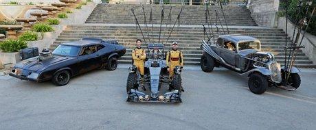 Monopost Lotus F1 inspirat de filmul Mad Max: Drumul Furiei