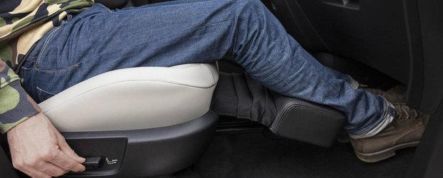 Monovolumul cu dotari de limuzina. Are scaune cu masaj, suport pentru picioare si Apple CarPlay
