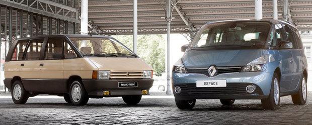 Monovolumul Renault Espace va fi inlocuit de un crossover