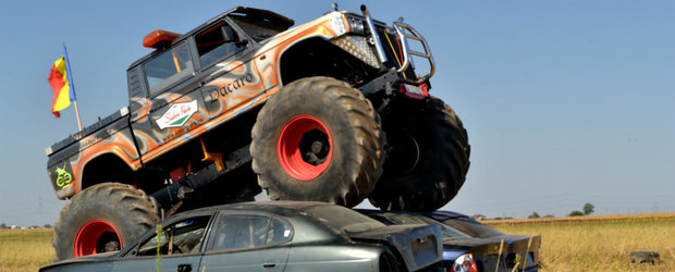 Monster Truck Days: in acest week-end, zdrobeste masinile cu un monstru 4x4!