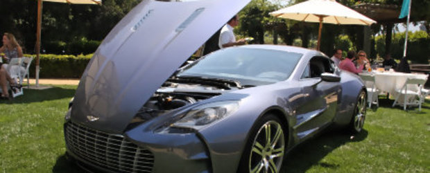 Monterey 2009: Toate privirile catre Aston Martin One-77!