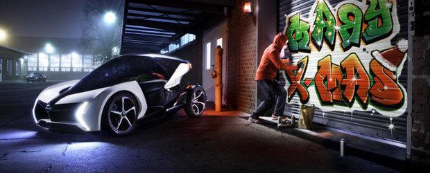 Mos Craciun 2.0 devine electric: Opel RAK folosit pe post de ren