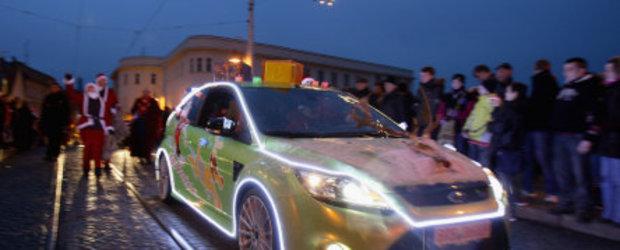 Mos Craciun cu... Focus RS verde