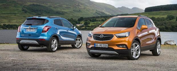 Motiv de sarbatoare pentru nemtii de la Opel. Performanta reusita de modelul Mokka X