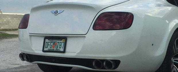Motivul pentru care acest Bentley Continental GT se vinde atat de ieftin