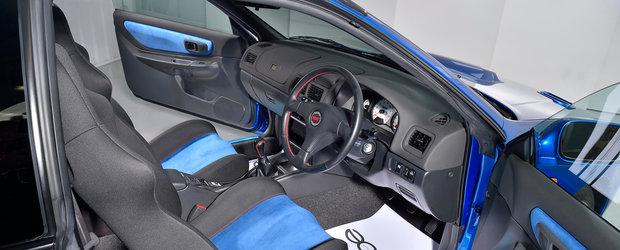 Motivul pentru care acest Subaru cu volan pe dreapta costa de peste patru ori mai mult decat un M4 nou-nout. POZE REALE