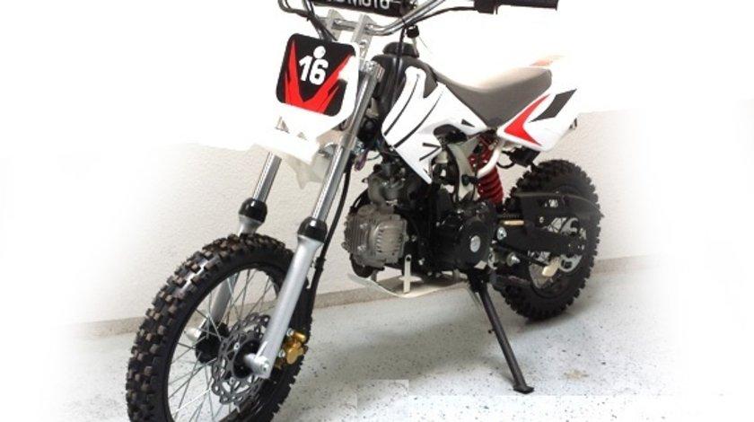 MOTO CROSS 125CC DIRT BIKE DB-612A J14 e-Starter JUNIORI
