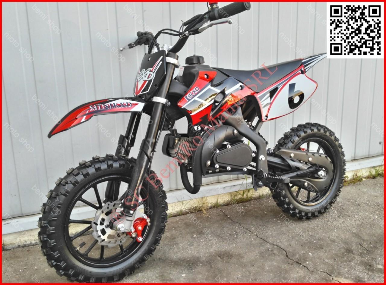 "MOTO CROSS 50cc midi DIRT BIKE J10"" OFERTA livrare GRATIS"