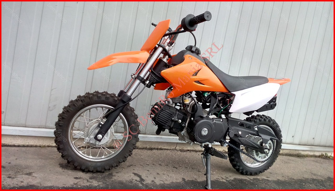 "MOTO CROSS BEMI 110CC DIRT BIKE - DB-502 J10"" electrostarter"