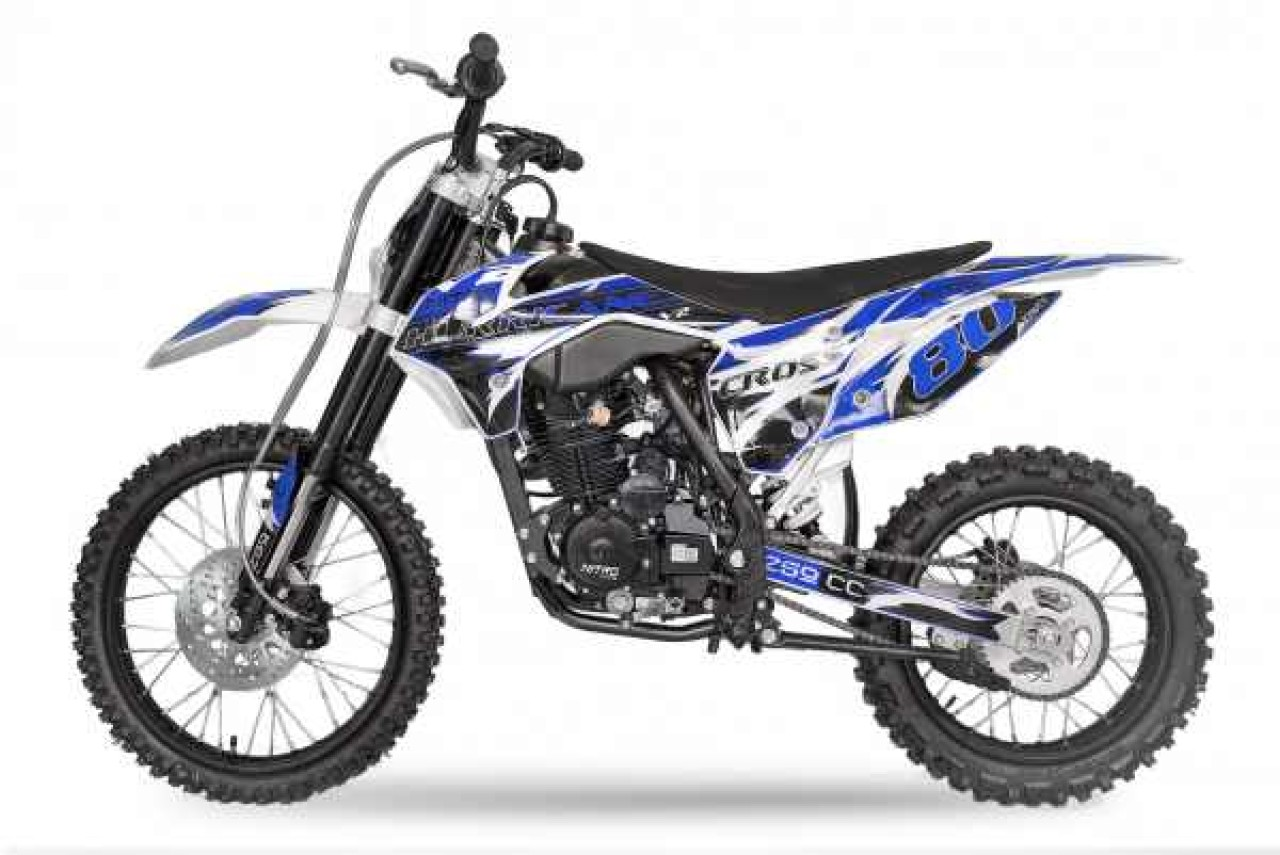 Moto Cross BEMI NITRO 250cc Off Road NEW Janta 19