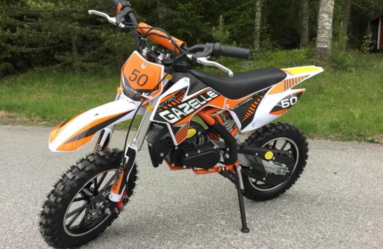 Motocicleta 49cc Gazelle Deluxe #VERDE