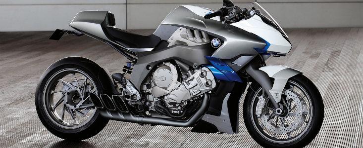 Motocicleta BMW: bavarezii prezinta un concept in 6 cilindri