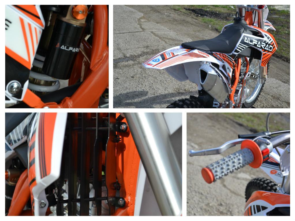 Motocicleta Cross ALFARAD 250cc Tornado
