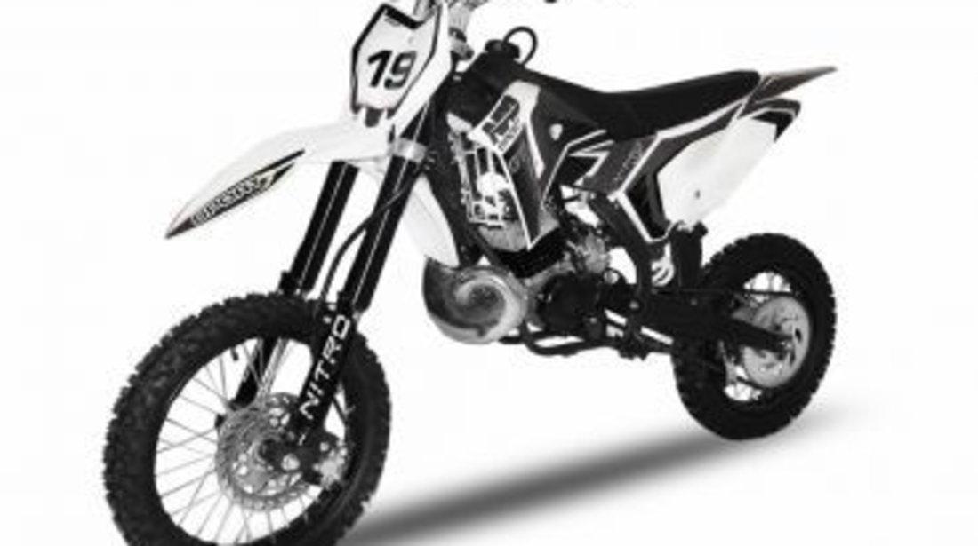 Motocicleta Cross Nitro 14/12 NRG65 GTR