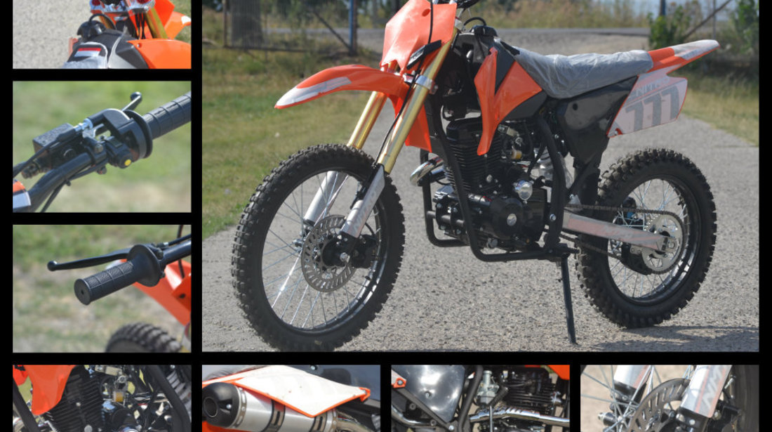 Motocicleta Dirtbike Nitro Hurricane 250cc , Import Germania
