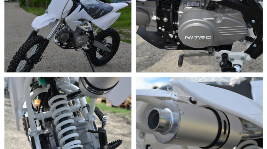 Motocicleta Nitro 125cc Thunder Dirtbike Import Germania