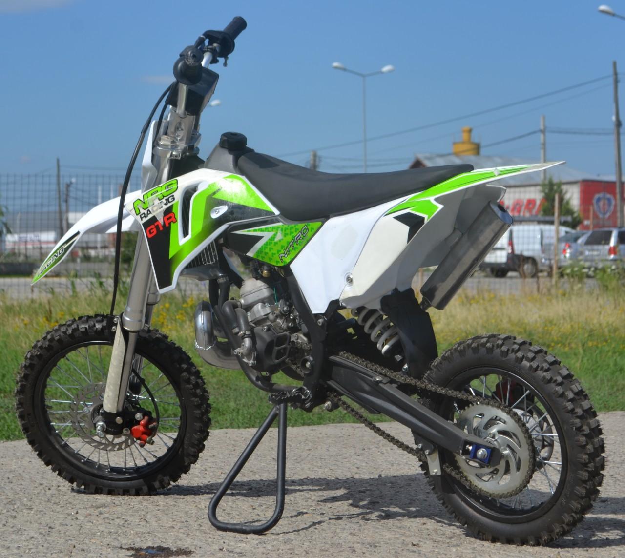 Motocicleta Nitro DirtBikeNRG65 14/12 GTR
