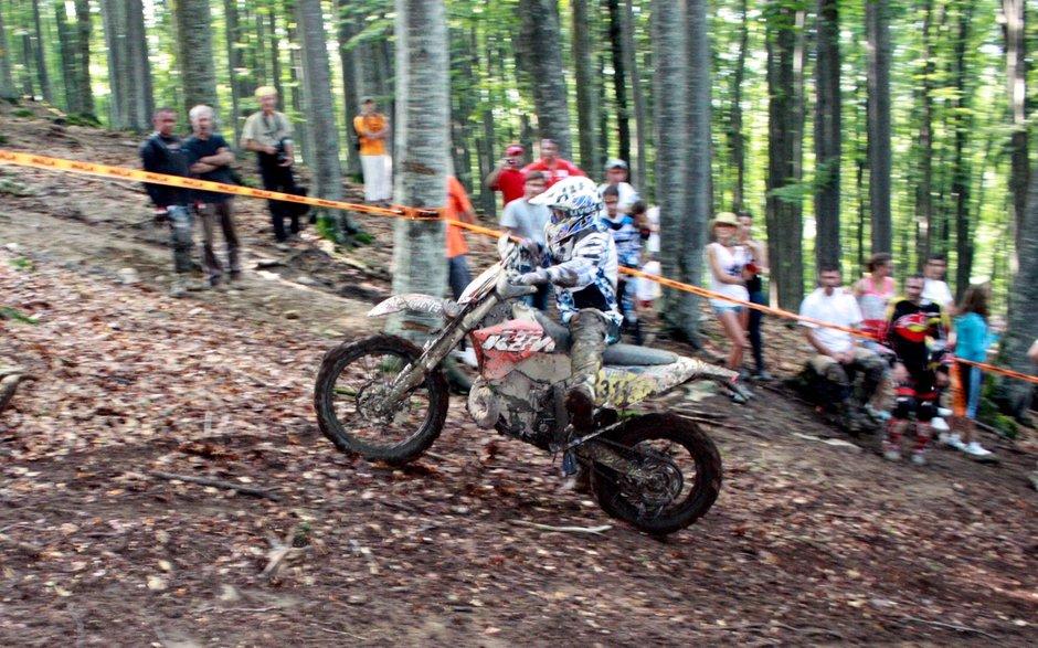 Motociclete la inaltime - Endurocross la 1200 metri altitudine!