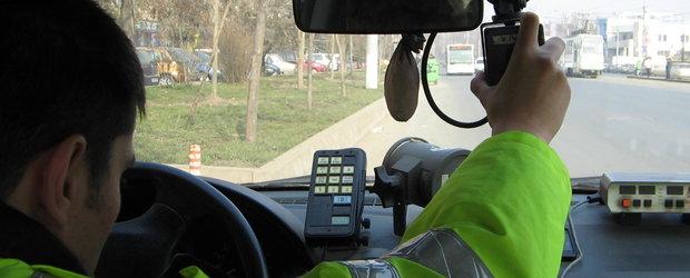 Motociclist prins cu 190 km/h pe soseaua de centura din Oradea