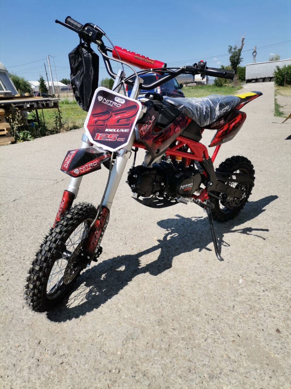 MOTOCROSS MODEL:SKY SUPER SPORT 125CMC #MANUAL 4 TREPTE