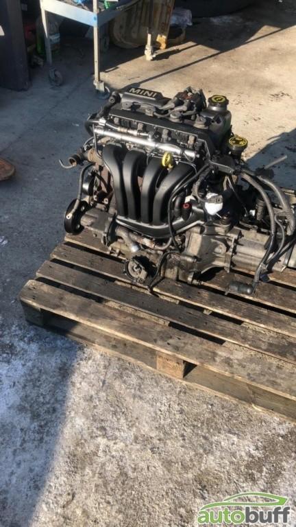 Motor Benzina Mini Cooper S 1.6 116PS R50 R53 751074601 04777662AFB W10B16A 5013ET