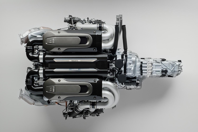Motor Bugatti Chiron - Macheta - Motor Bugatti Chiron - Macheta