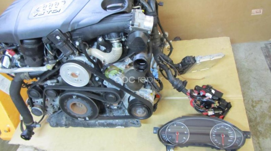 Motor complet Audi A7 4G / A6 4G CDU - 245Cp - 180KW - 68.000km