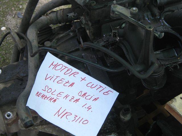 Motor cu cutie viteza dacia solenza