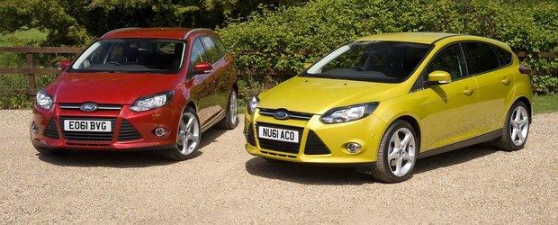 Motor de 1.0 litri pentru Ford Focus 2012