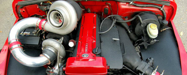 """Motor de Supra si doua turbine """"cat casa"""". Ce masina neobisnuita a primit toate acestea"""