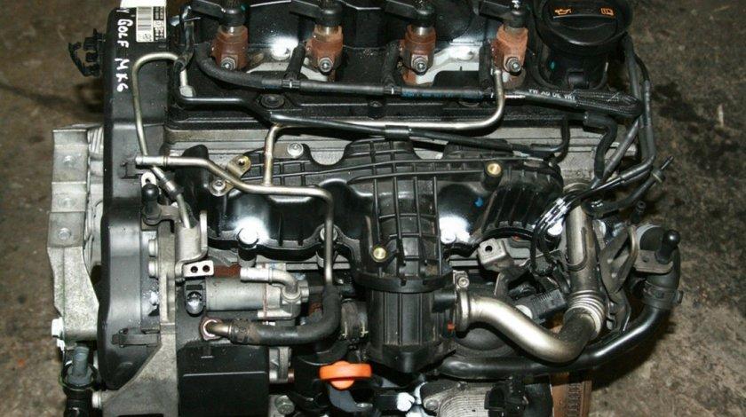 Motor fara accesorii vw golf VI 1.6 tdi cayc 105 cai