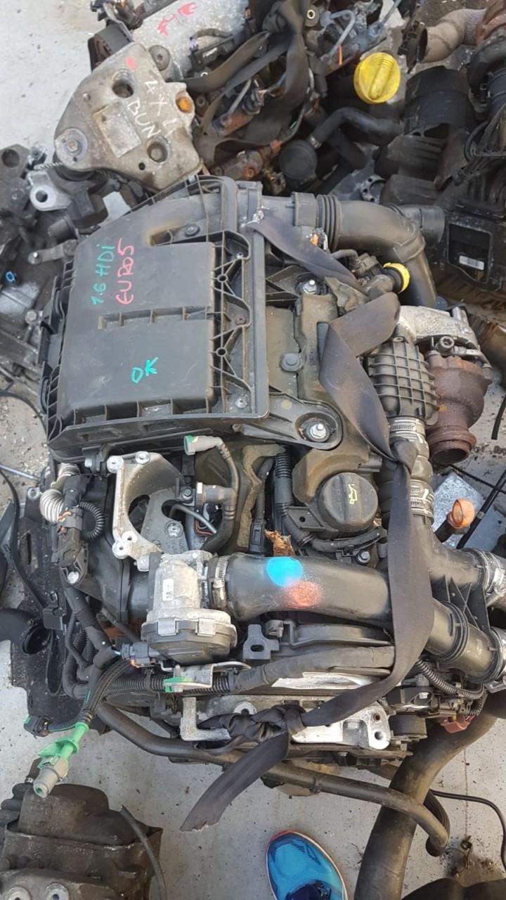 Motor fara anexe Peugeot 508 / Citroen C4 1.6 HDI Euro 5