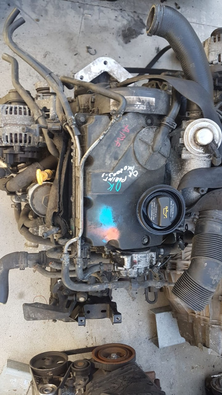 Motor fara anexe VW Polo 2004 1.4 TDI AMF