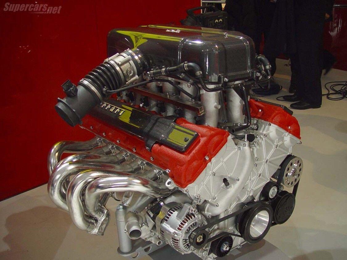 Motor Ferrari Enzo - Motor Ferrari Enzo