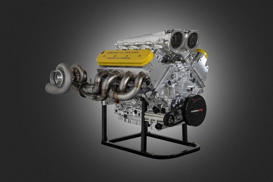Motor Hennessey Venom F5