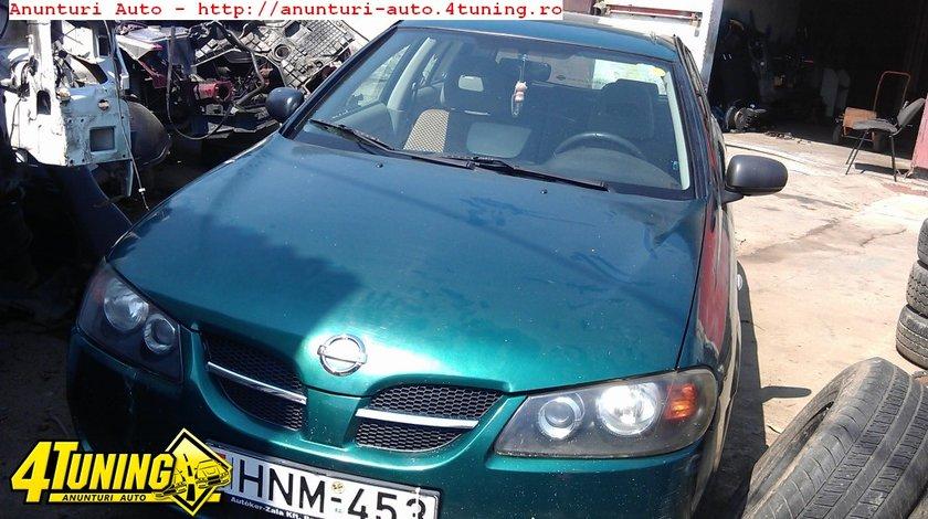Motor Nissan Almera II hatchback an 2001an 2001 motor benzina 1498 cmc 66 kw 90 cp tip motor QG15DE dezmebrari Nissan Almera II an 2001