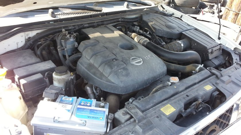 MOTOR NISSAN PATHFINDER 2500 dci 2004 2012 2 5 L YD25DDTi I4 Turbodiesel Dezmembrez nissan pathfinder 2004 2012 171 cp 2 5 diesel tip motor yd25 118000km reali cutie de viteze manuala faruri grila fata cardan grup fata grup spate punte fata