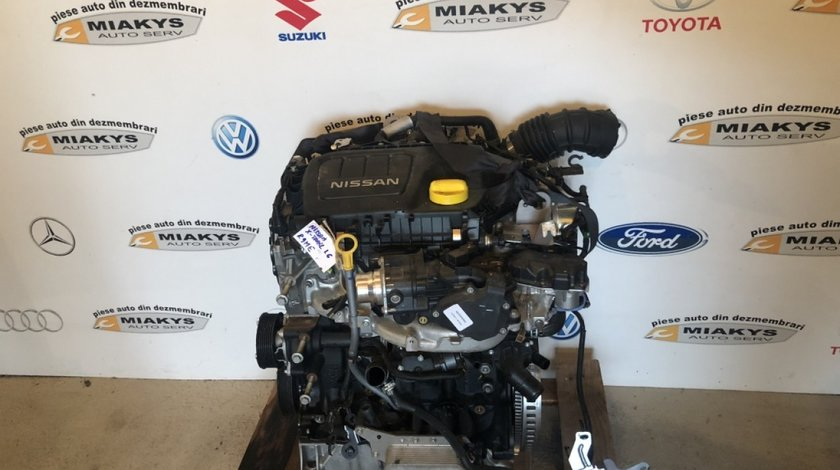 Motor Nissan Qashqai 2014-2016 tip-R9ME 1.6dci
