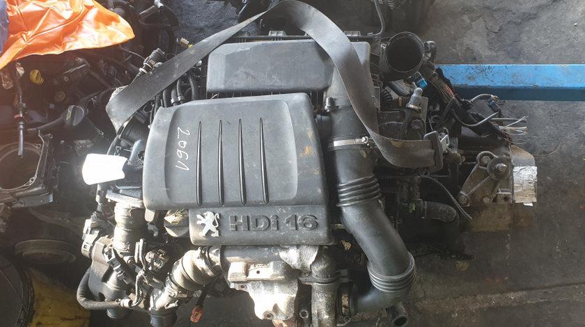Motor Peugeot 1.6HDI 9HZ 110CP Citroen Focus 2 Euro 4