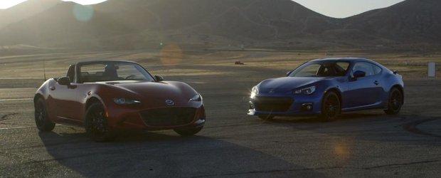 Motor Trend pune fata in fata Subaru BRZ si noua Mazda Miata