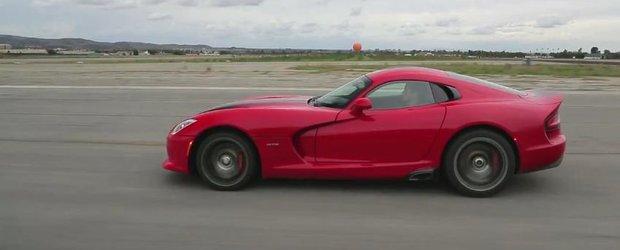 Motor Trend testeaza noul SRT Viper GTS de 640 cp