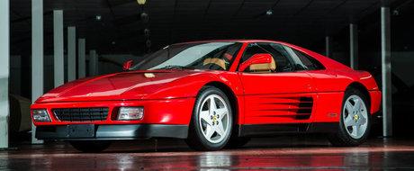 Motor V8 si transmisie manuala. Cine nu si-ar dori acest clasic Ferrari 348 TB?